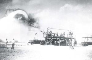Fort Kamehameha mortars, 1930s.