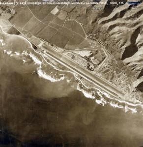 Mokuleia Landing Field, Oahu, 1930s.