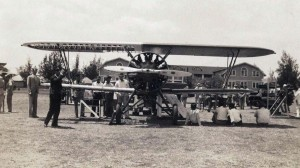 Plane at Fort Armstrong, Oahu, c1931-1934.