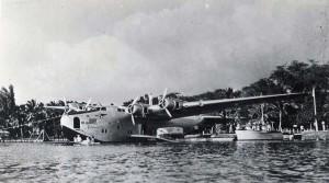 Pan American China Clipper 1930s.