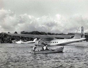 Pan American China Clipper, 1930s.