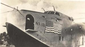 Pan American Clipper 1930s.