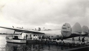 Pan American Clipper, 1930s.