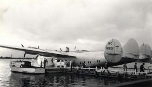 Pan American Clipper, 1930s.