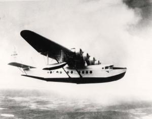 Pan American Airways Clipper Ship, June 21, 1935.