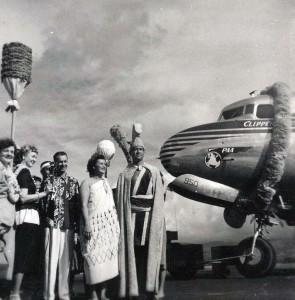Pan American Clipper Aloha Week Celebration.