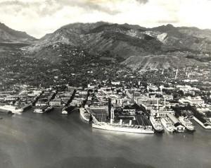 Honolulu Harbor, July 20, 1933.