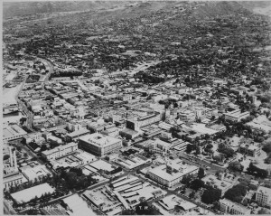 Downtown Honolulu 1938.