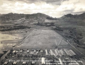 Emergency landing field, Division Review Field, at Schofield April 27, 1933.