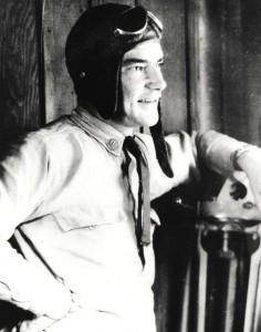 Unknown pilot, Wheeler Field, c1930.