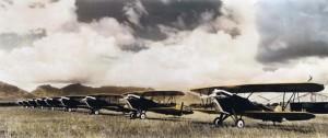A-3s on Wheeler Field, Oahu, c1930-1931.