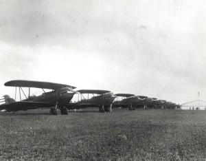 A-3s on Wheeler Field Flight line, c1930-1931.