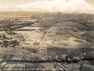Wheeler Field, Oahu, October 12, 1933.