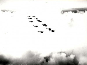 A-12 Formation Over Oahu September 18, 1939.