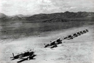 A-3 on Wheeler Field flight line, c1930-31.