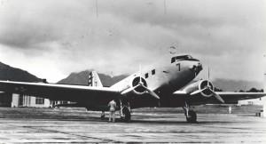 C-33 (Douglas DC-2) at Wheeler Field, 1939.