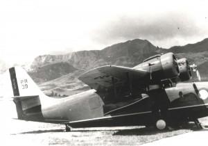 Grumman OA-9 Goose, 6th Pursuit Squadron at Wheeler Field, c1939-1941.
