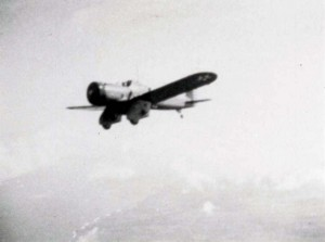 Aircraft from Wheeler Field fly past Haleakala on trip to Hilo, December 1938.