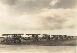 P-12 on Wheeler Field flight line, 1930.