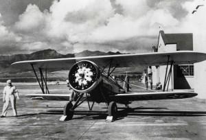 P-12 on Wheeler Field flight line, 1933.