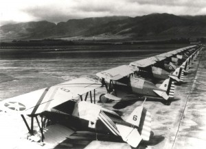 Boeing P-12E 18th Pursuit Group at Wheeler Field, 1934-1937.
