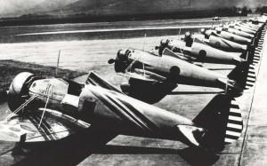 P-26 at Wheeler Field, 1930s.