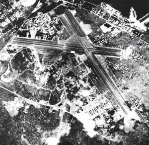 Naval Air Station Hilo, April, 1945.