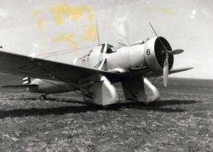 Curtiss A-12 Shrike, at Morse Field, Hawaii, 1940.