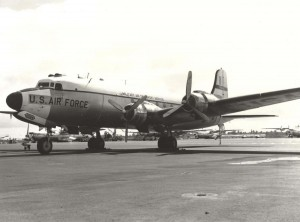 C-54 at Hickam Field, c1940s-1960s.