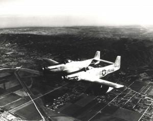 P-82 Mustang Betty Jo stationed at Hickam Field, 1947.
