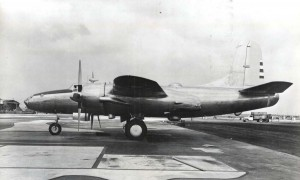 North American XB-28, Hickam Field, c1940s.