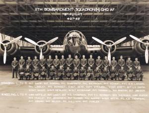 11th Bombardment Squadron, Hickam Field, April 27, 1940.