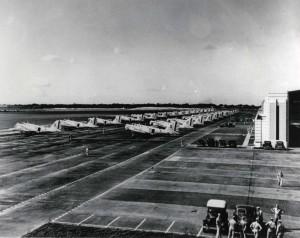B-18s on Hickam Field flight line, 1940.