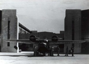 OA-9 aircraft at Hickam Field, c1940-1941.