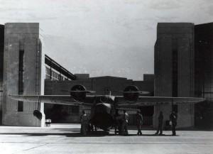 OA-9 aircraft at Hickam Field, c1940-1941.