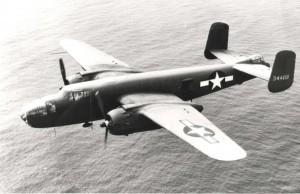 B-25J stationed at Hickam Field, 1940s.