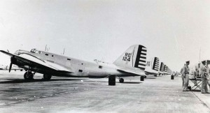 Douglas B-18 at Hickam Field, 1940s.