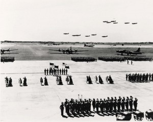 Purple heart ceremony, Hickam Field, April 2, 1942.