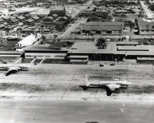Hickam Air Transport Command Terminal, 1945.
