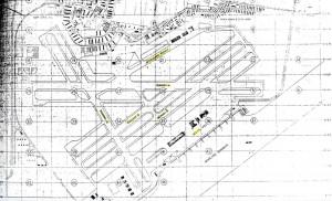 Honolulu Airport Master Plan, 1945.