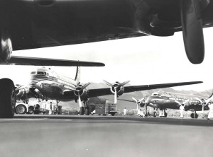 Pan American Airways Clipper Courser, Clipper Polynesia, 1940s.