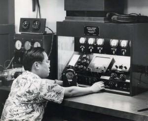 Hawaiian Airlines. Instrument panel calibration.