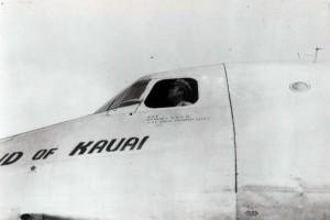 C-54 Island of Kauai, John Rodgers Airport, 1940s.