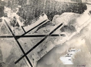 John Rodgers Airport was expanded by dredging Keehi Lagoon, 1943.