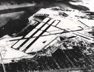 Naval Air Station Honolulu (John Rodgers Airport), April 1945.