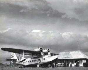 Lihue Airport, Kauai, 1941.