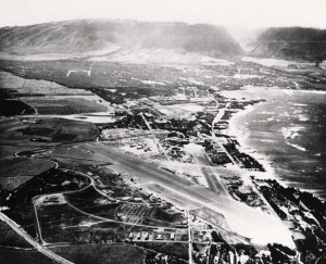 Naval Air Station Maui, March 1945.