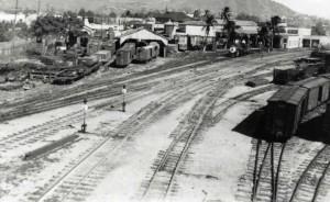 OR&L Railroad Yard, November 1941.