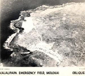 Kalaupapa Emergency Field, Molokai, September 14, 1944.
