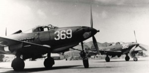 P-390 aircraft at Bellows Field, 1943.